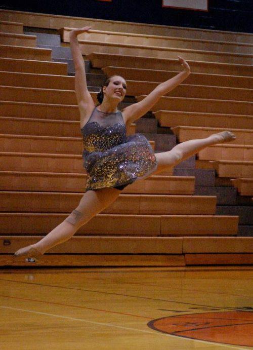 Taylor Russo dancing