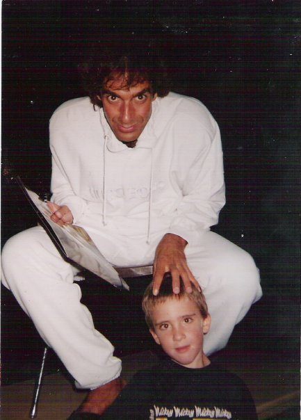 David Copperfield with young Jeremy