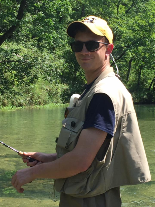 Matt fishing