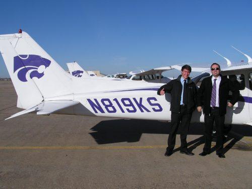 ryan flying a plane