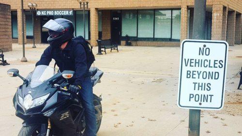 ryan on motorcycle