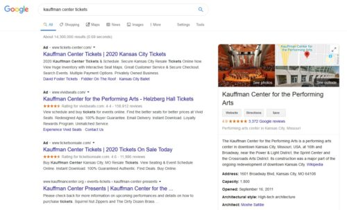 Search Results Example