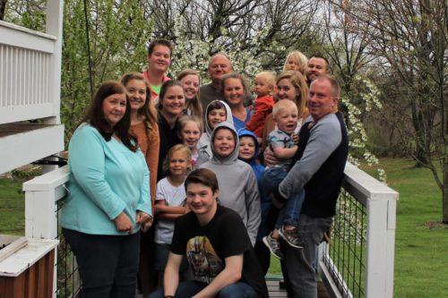 Jesse's big family