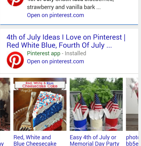 4th of July pinterest search results