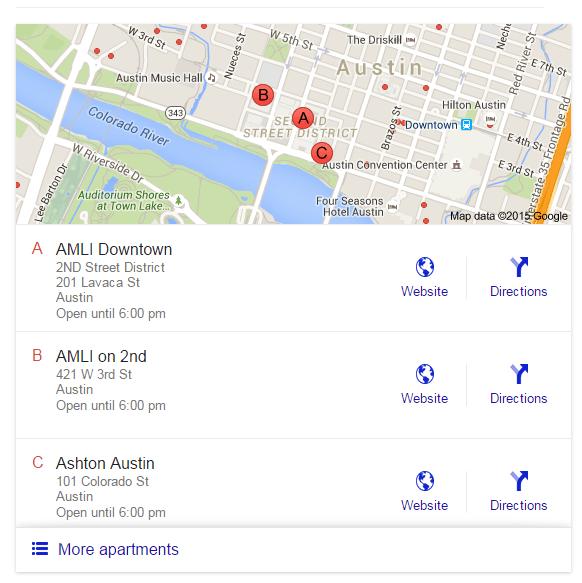 Apartment Search in Austin, Texas